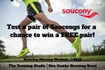 Saucony Demo and shoe giveaway this weekend!